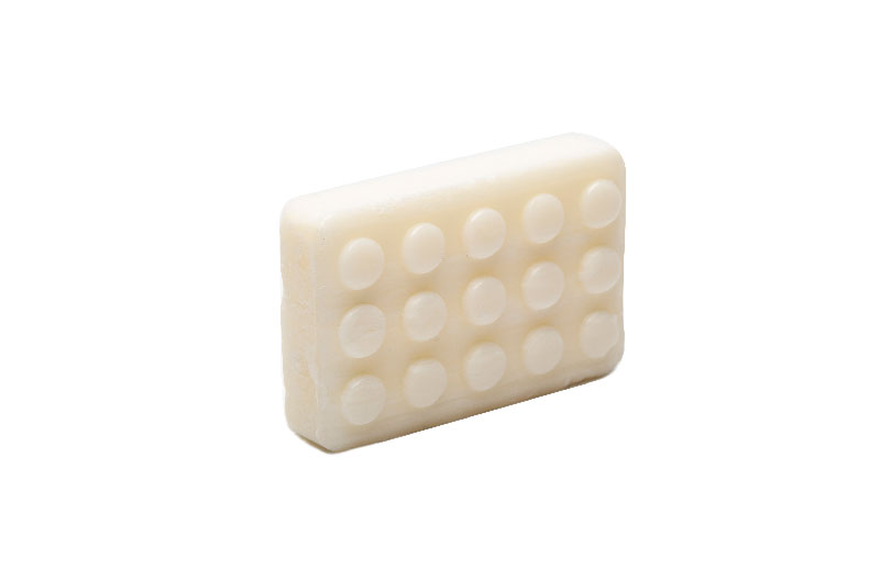 Cheap Wholesale Hotel Square 10g Wheat Bran Soap