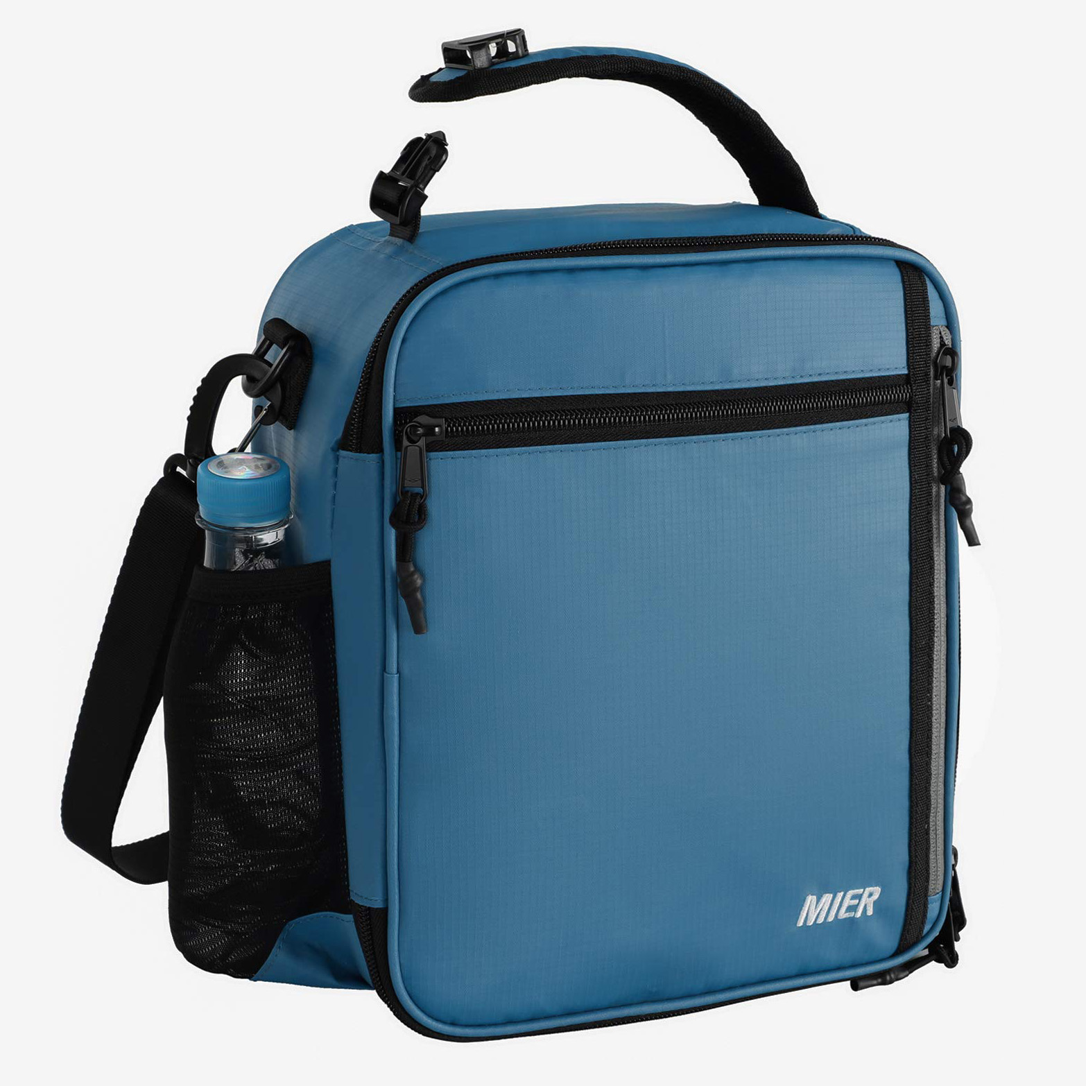 MIER Insulated Lunch Box Bag with Shoulder Strap