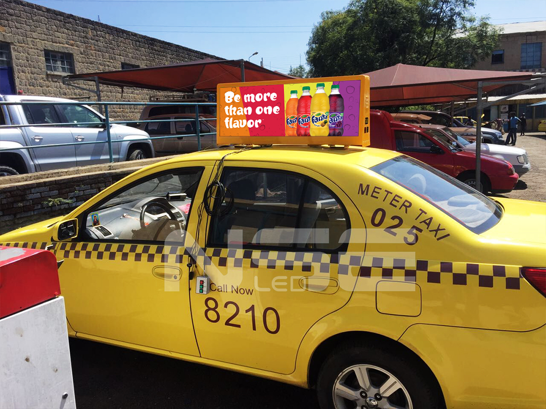 Taxi Roof LED Sign In Australia   Taxi Topper LED Sign