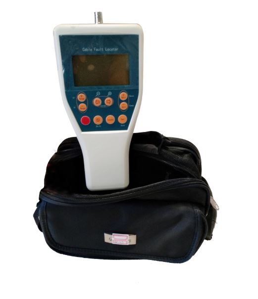 0-8km Hand held communication TDRL-901 cable locator tester for cable path and time of fault