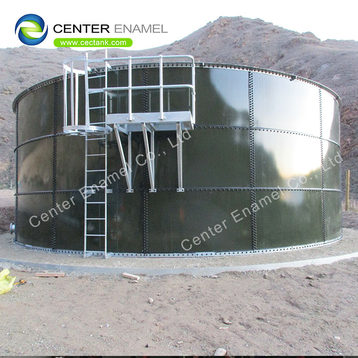 Factory Coated Glass Lined Steel Leachate Storage Tanks Confirmed To AWWA Standards