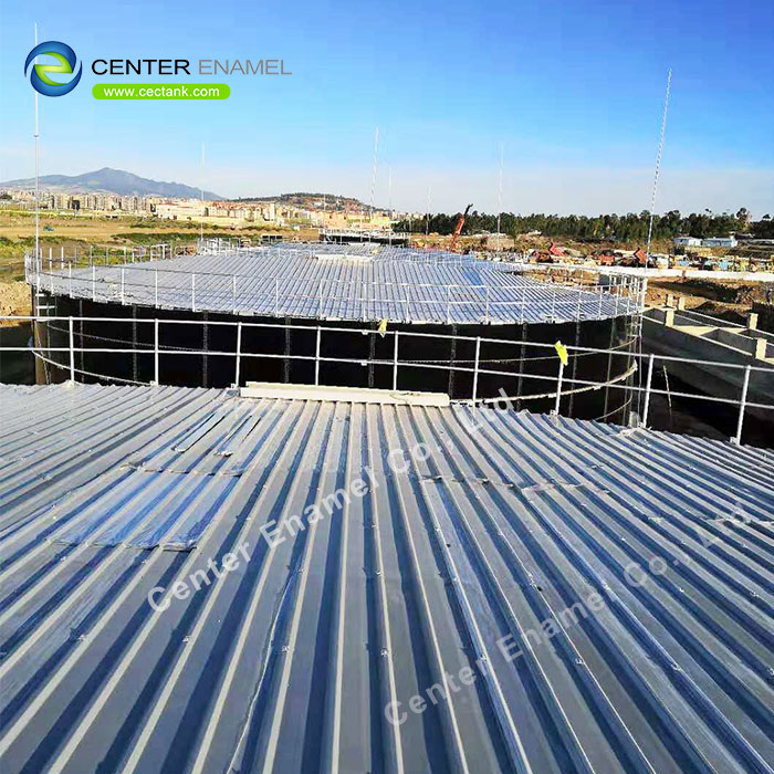 Glass Fused To Steel Anaerobic Digestion Tanks For Industrial Wastewater Treatment
