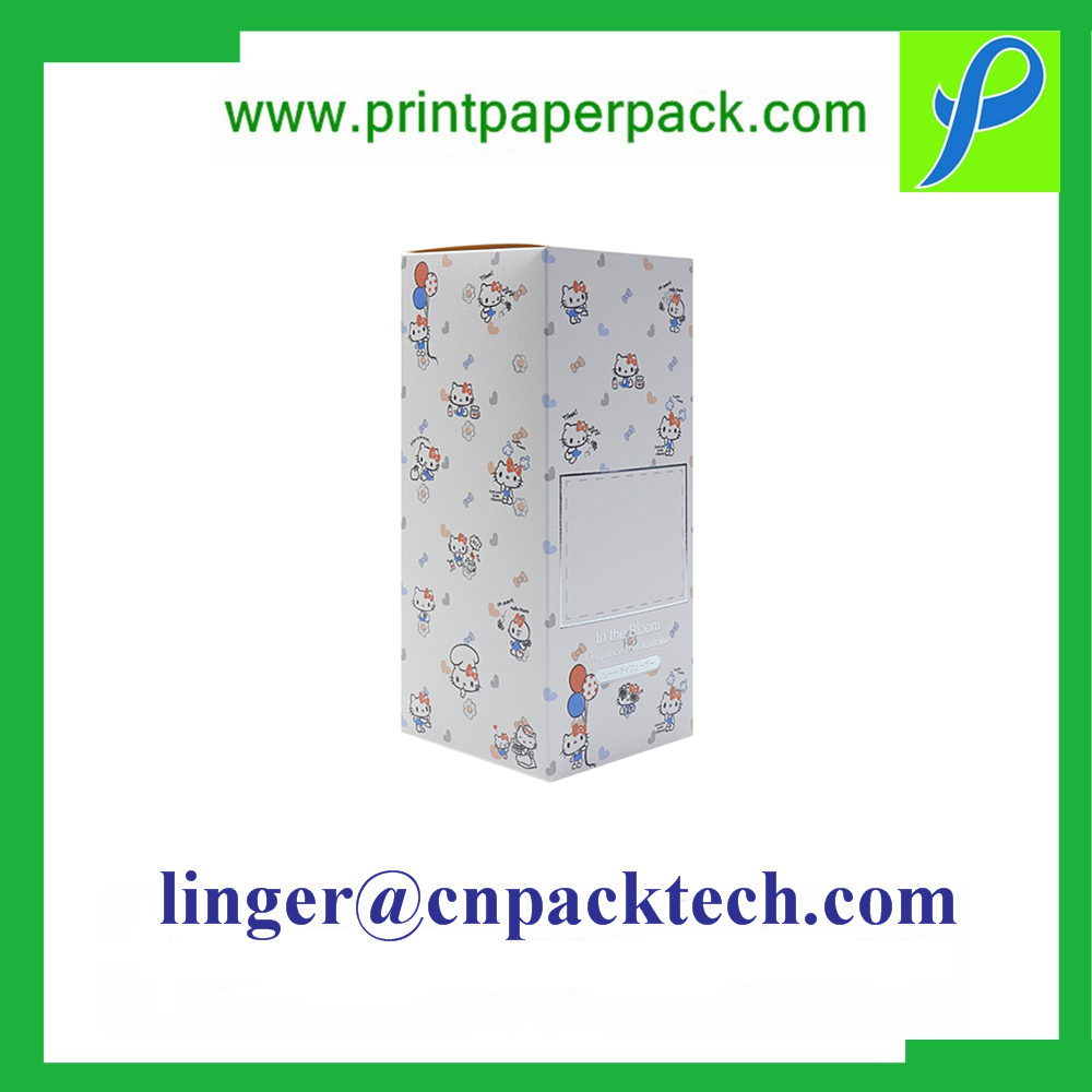 Custom Rectangle Makeup Cosmetic Packaging Paper Gift Box