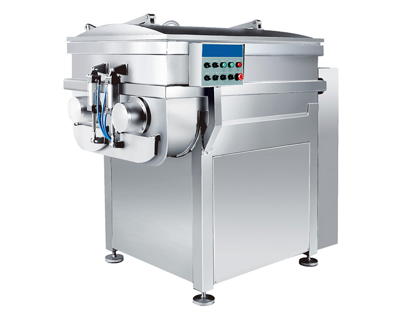 Meat Vacuum Stuffing Mixing Machine
