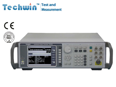 Techwin Synthesized Signal Generator TW4200 with Excellent Broadband DCFM & DCØM Function