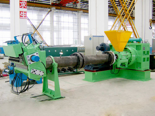 Pin-Barrel cold feed rubber extruder-Cold feed extruder China