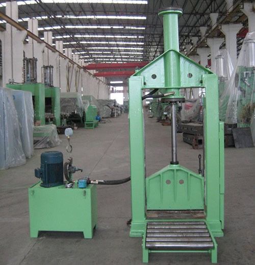 Bale Cutter /rubber cutting machine China-Vertical cutting machine China