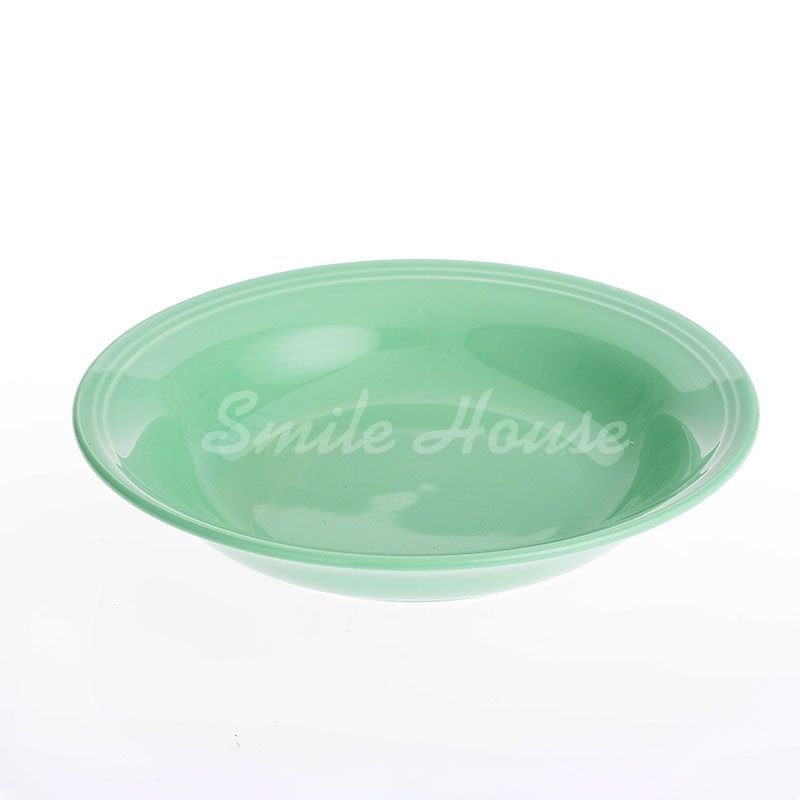 Green design ceramic set plates