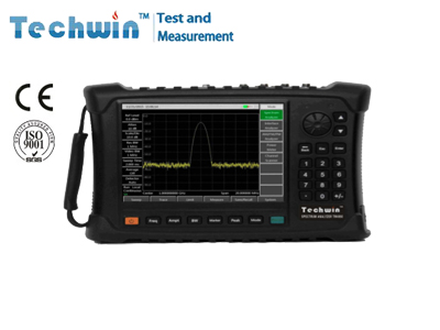 Techwin Portable Spectrum Analyzer TW4950 for Comprehensive performance evaluation of electonic weapon equipment
