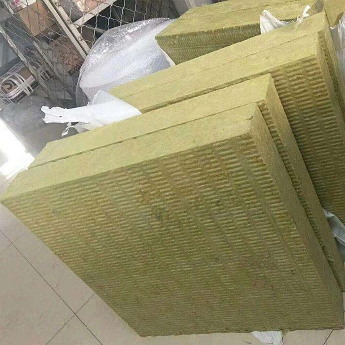 Environment Friendly External Wall Rock Wool Insulation Board