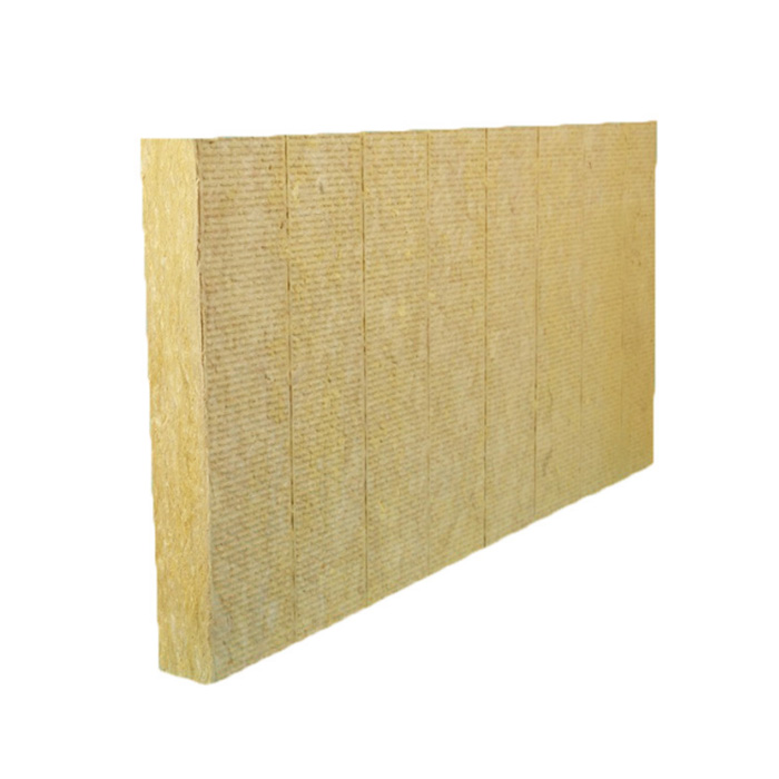 Excellent thermal resistance Fireproof Rock Wool Board