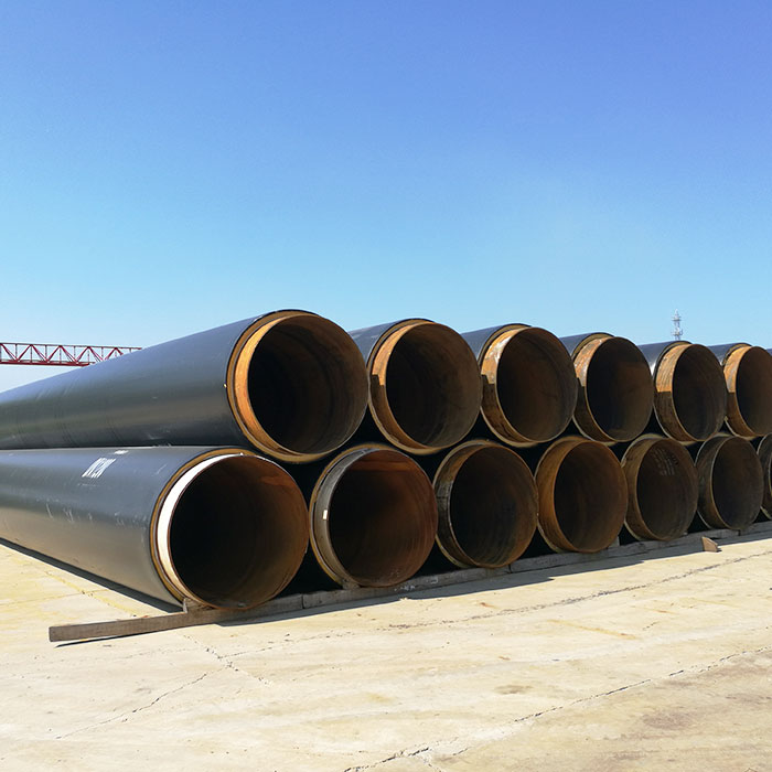 Thermal insulation direct buried pipe