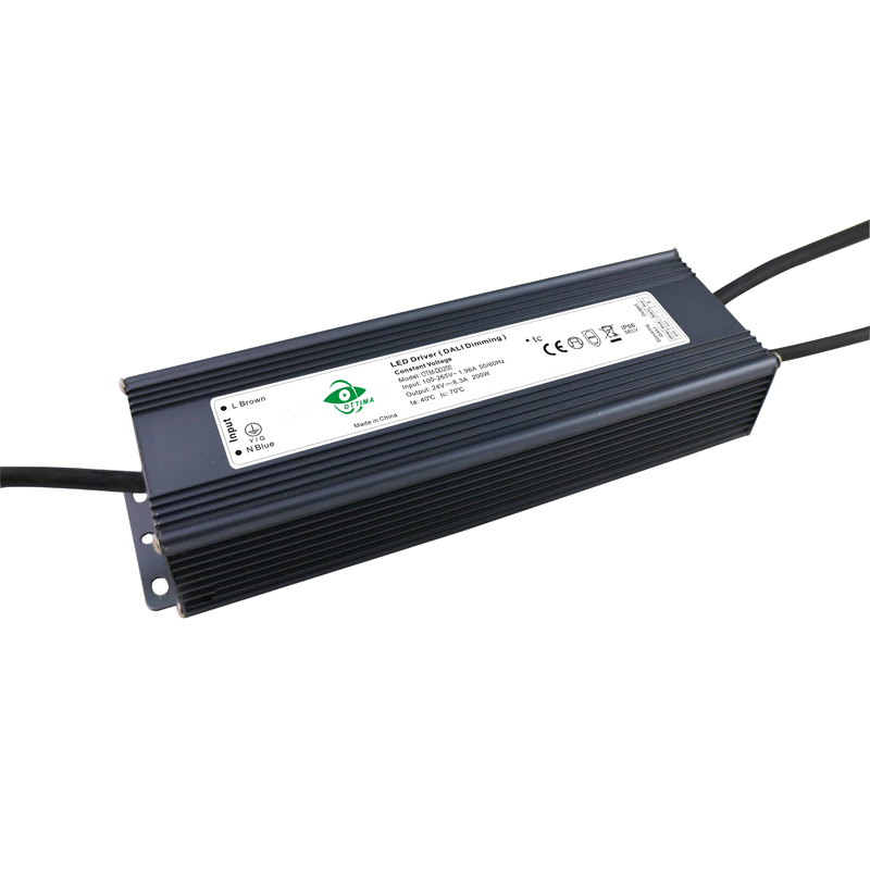 12v 200w DALI LED driver  Intelligent LED driver  constant voltage DALI LED driver