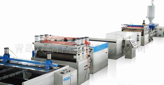 PVC plastic sheet production line