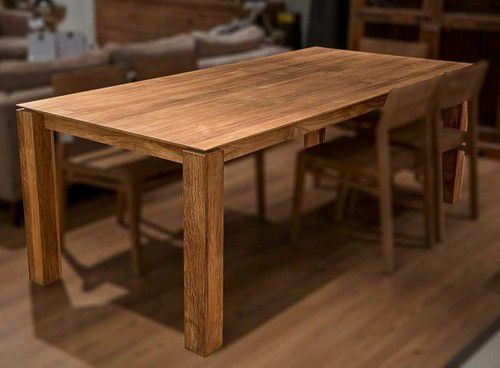 Teak Dining Table -Sleek Design