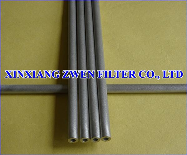 Titanium Sintered Porous Filter Tube