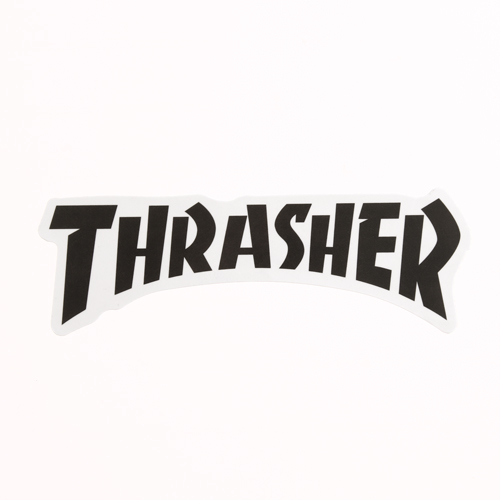 Vinyl Letter Stickers | Thrasher Custom Stickers | Customsticker.com ™