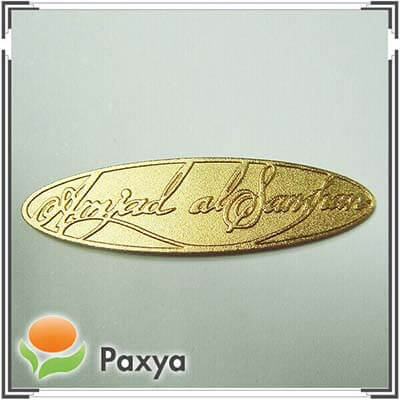 Extrusion Metal Nameplate
