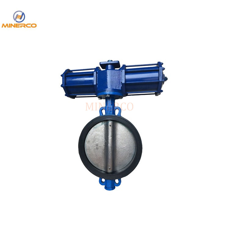 Stainless Steel Carbon Steel Ductile Iron Cast Iron Flange Wafer Butterfly Valve