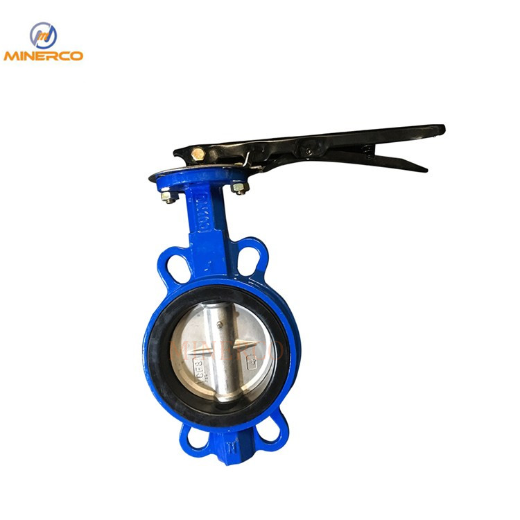 China Standard Stainless Steel Butterfly Valve with Handle