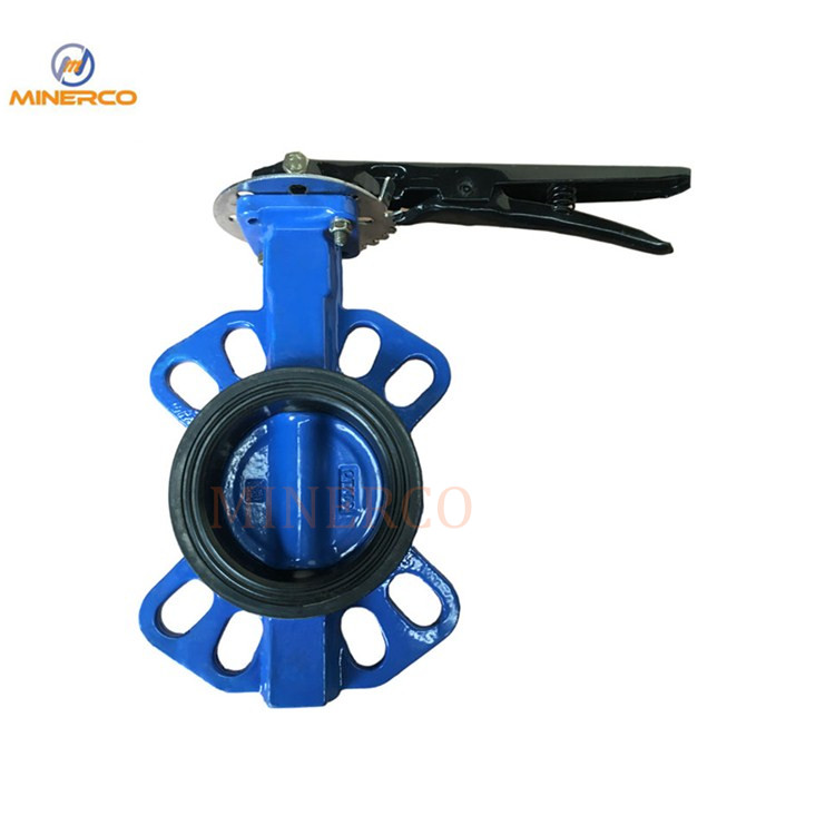 Dutile Iron Soft Seal Wafer Butterfly Valve