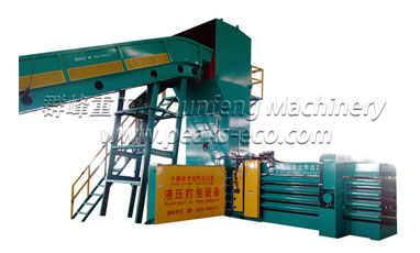 Large market development requires paper baler machine