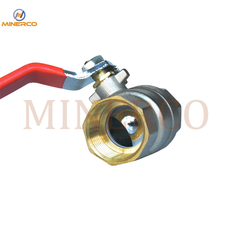 Wholesale Water Meter Gas Lever Handle Full Port Brass Male Thread Pn16 Brass Ball Valve