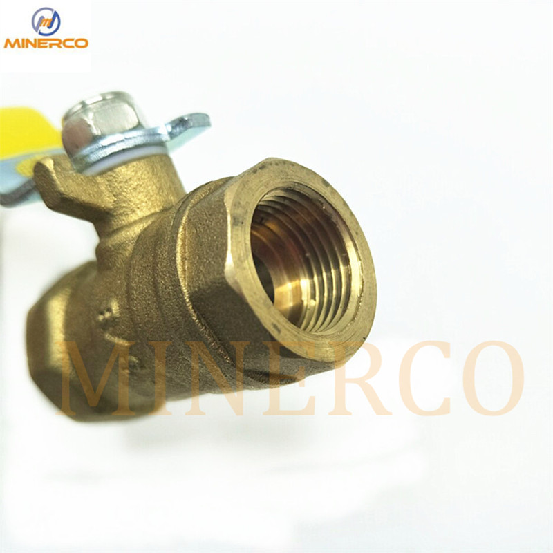 3/8 Brass Material Shut off Flow Control Ball Valves