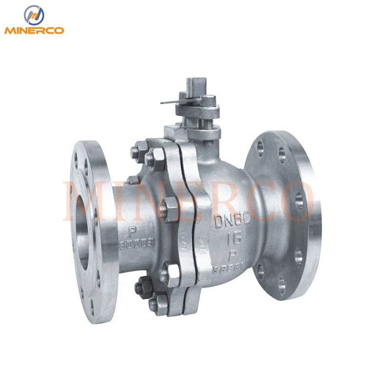Factory Customized DIN/ANSI/JIS Stranard 4 Inch Flanged Stainless Steel Ball Valve
