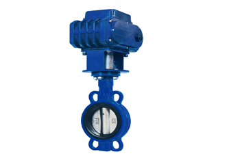 Cast Iron Butterfly Vavle  D971X-10/10Q/16/16Q Electric Drive Type Butterfly Valve