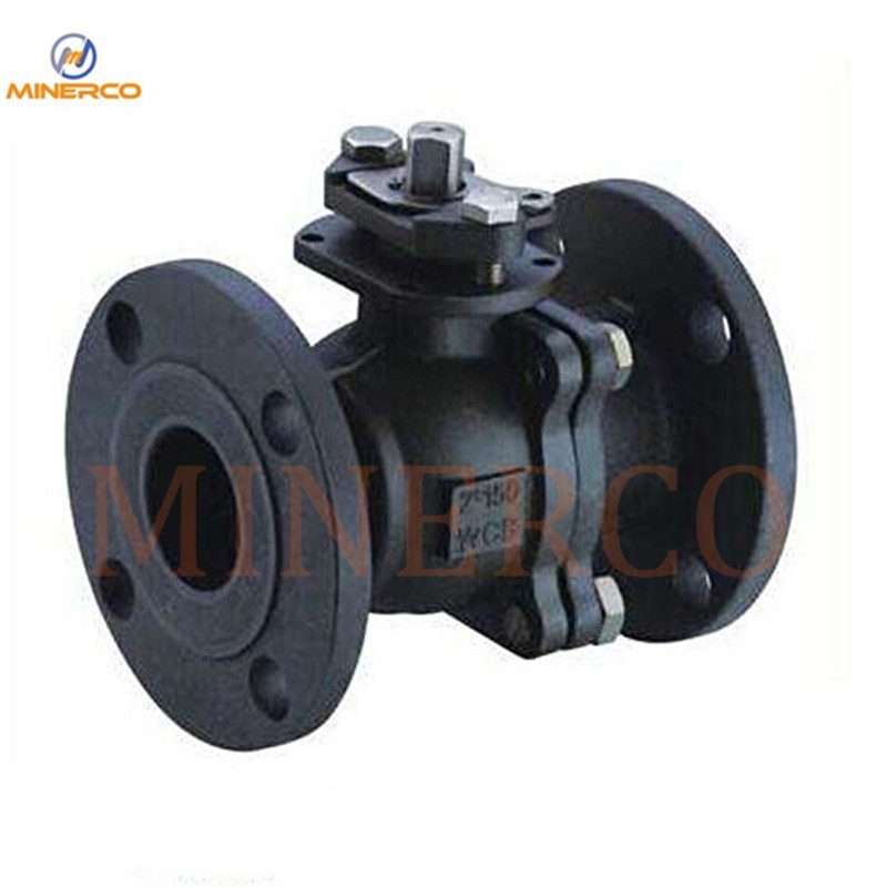Wcb Side Entry Floating Ball Valve with Gearbox