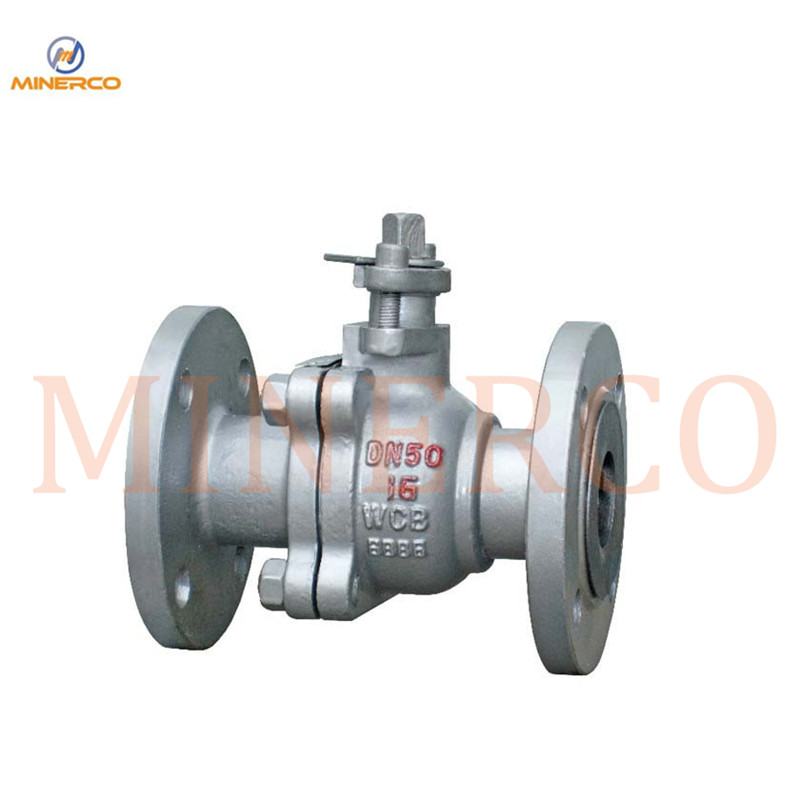 Quikly Open/ Close Carbon Steel Flanged Ball Valve with Handle