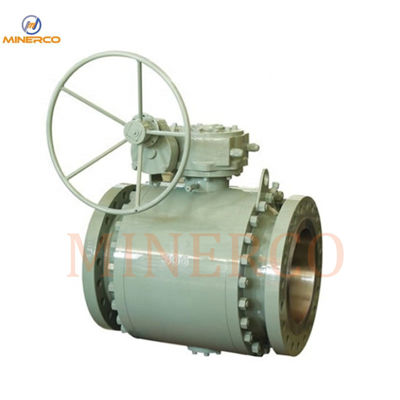 ANSI Forged Steel A105 Fully Welded Body Ball Valve