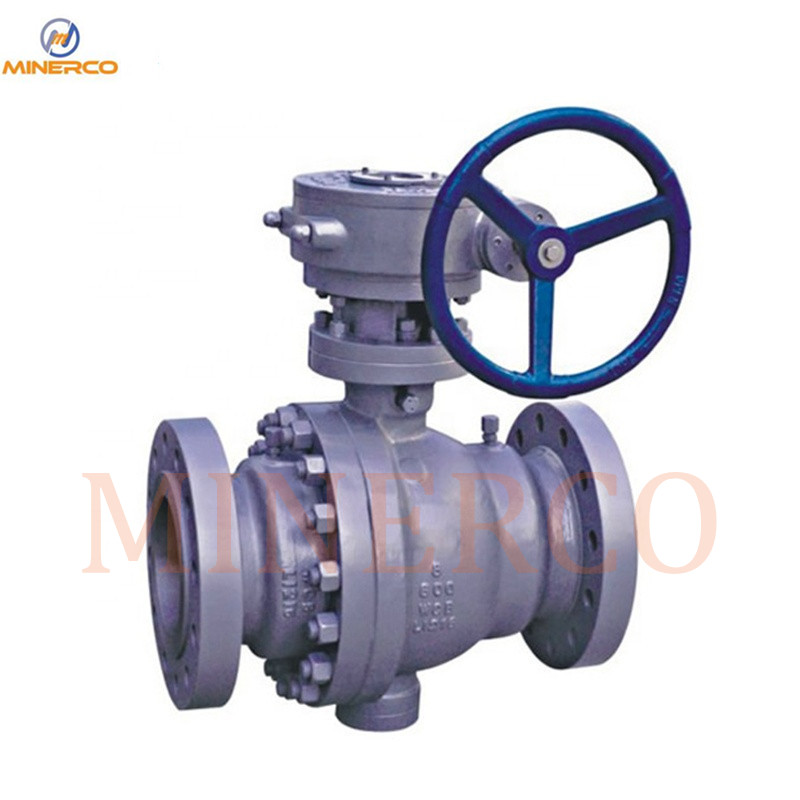 Forged Carbon Steel Trunnion Ball Valve