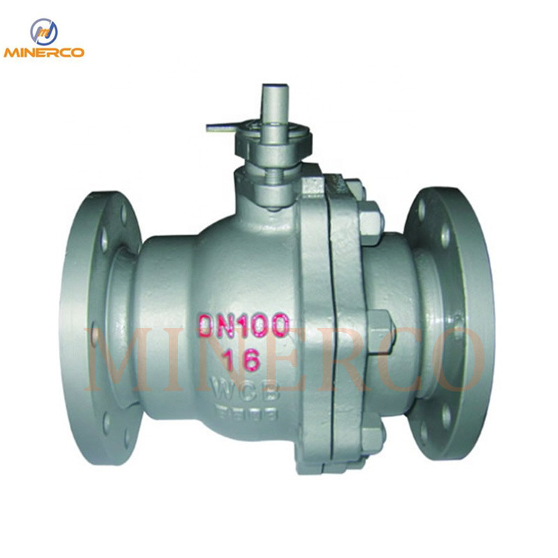 High Quality API Flanged Floating Ball Valves