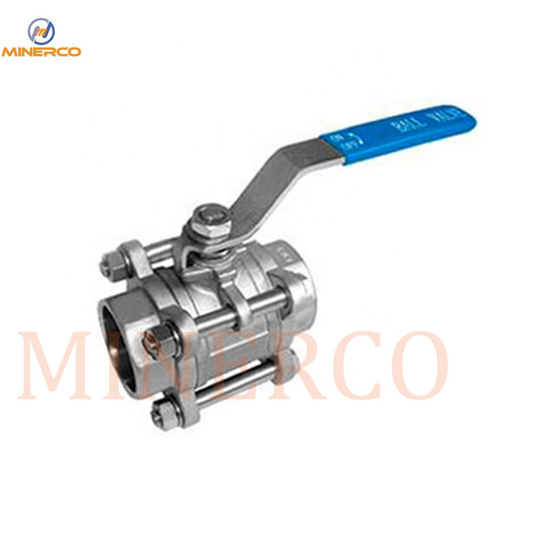 NPT CF8m Stainless Steel Floating Ball Valve