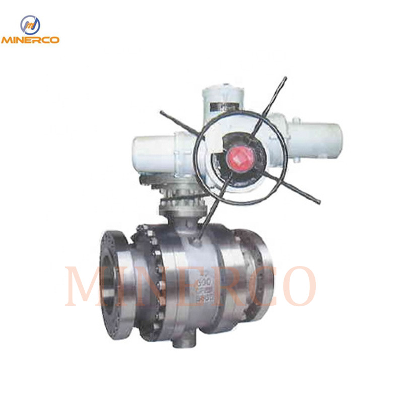 Manual Worm Gear Metal to Metal Hard Seal Ball Valve