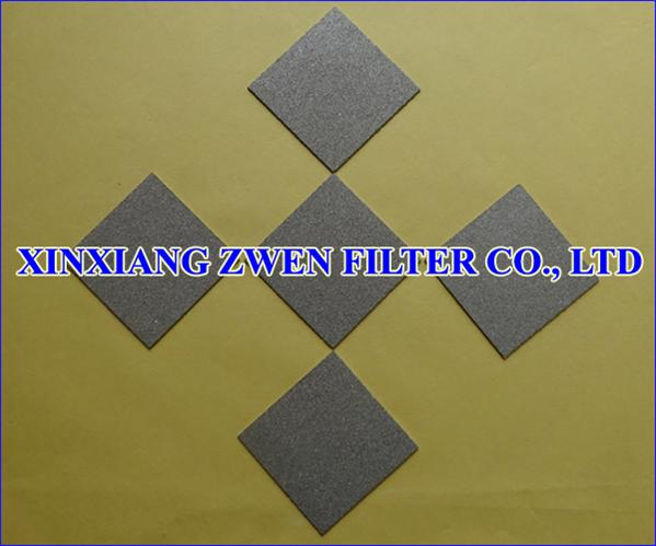 SS Sintered Porous Filter Sheet