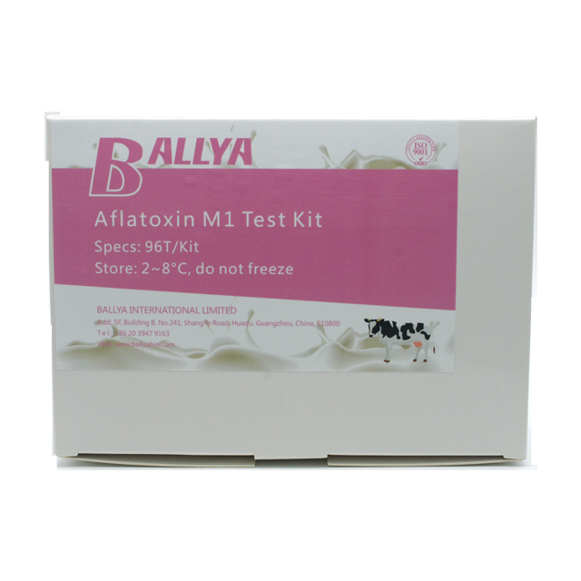 Aflatoxin M1 test