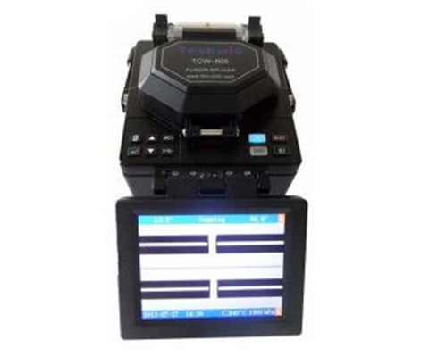 Techwin Fusion Splicer TCW-605E for construction and maintenance of fiber and cable
