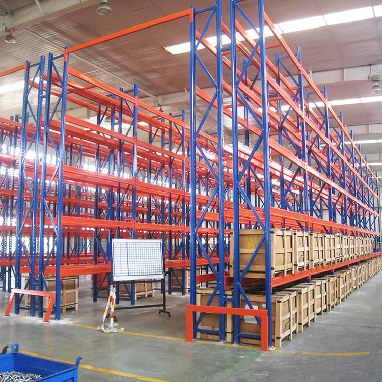 Heavy Duty Adjustable Steel Shelving 80*60 Frame Selective Pallet Rack System