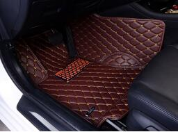 Diamond car floor mat