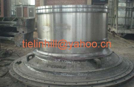 ball mill feed head