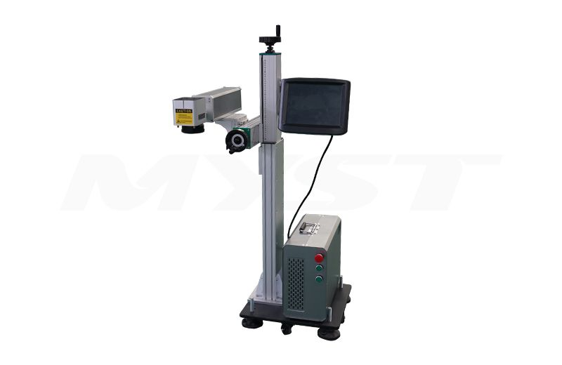 Flying Fiber Laser Marking Machine  professional laser marking machine  laser marking machine