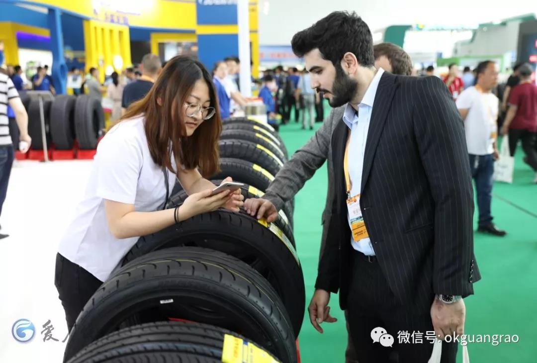 [World expo center]Guangrao tyre show 'celebrating birthday'