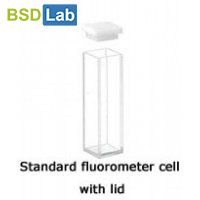 fluorometer cuvette with ptfe lid