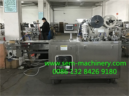 Saffron Blister Packing Machine