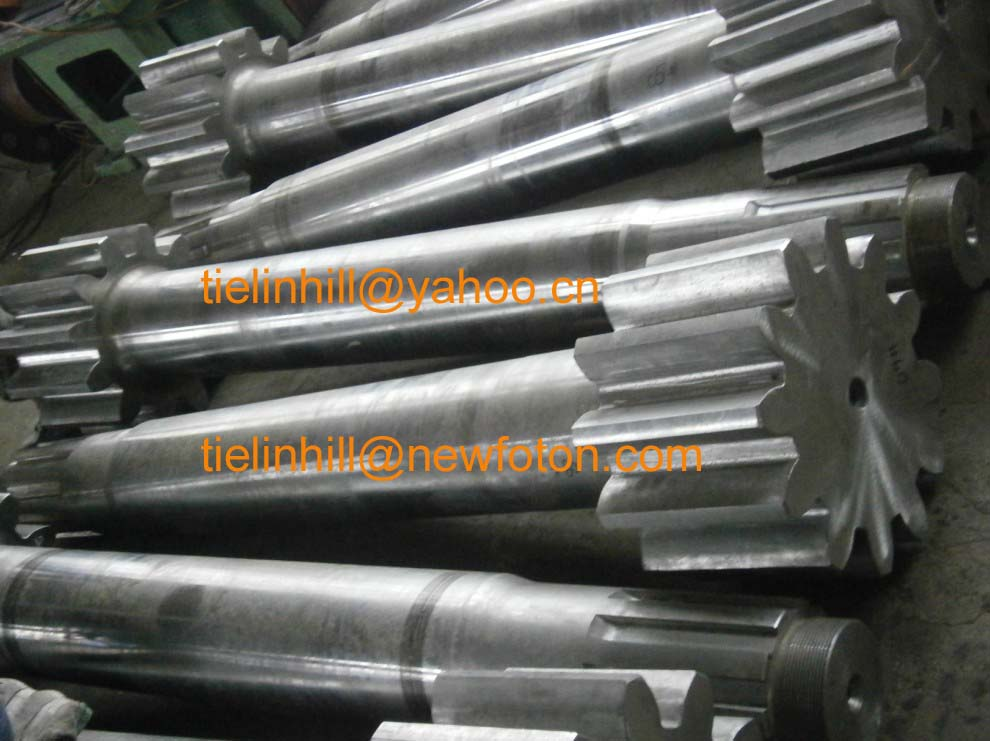 gear shaft,pinion shaft,bevel gear