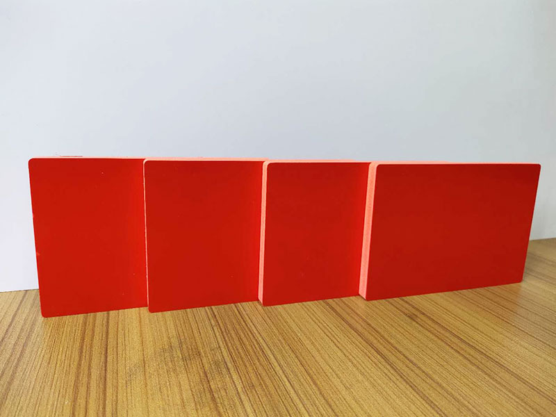 PVC Colored Foam Board / 8mm 0.50 density