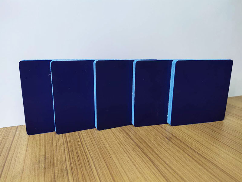 PVC Colored Foam Board / 10mm 0.50 density